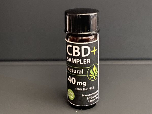 CBD+ Sampler 40mg Natural